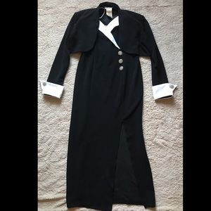 Betsy and Adam VINTAGE dress and jacket set